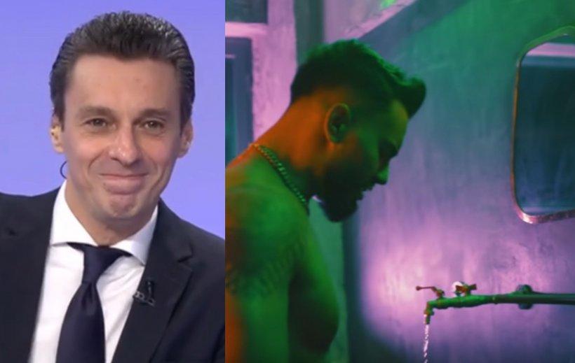 Mircea Badea, explicație inedită: De ce cântă Jador în fața mai multor oglinzi mici în clipul cu Loredana