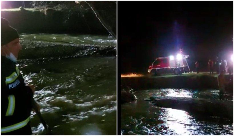 Un copil de trei ani a murit înecat, după ce a căzut în râul Cerna în timp ce se juca