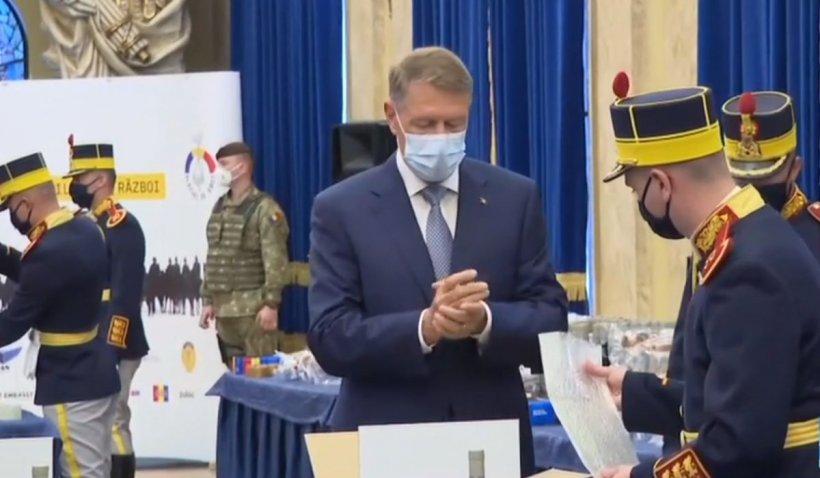 Ce se afla în pachetele de Paște pregătite de Iohannis pentru veterani