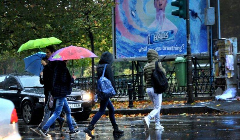 Prognoza meteo 27 - 29 aprilie 2021. Ploi puternice în toată țara