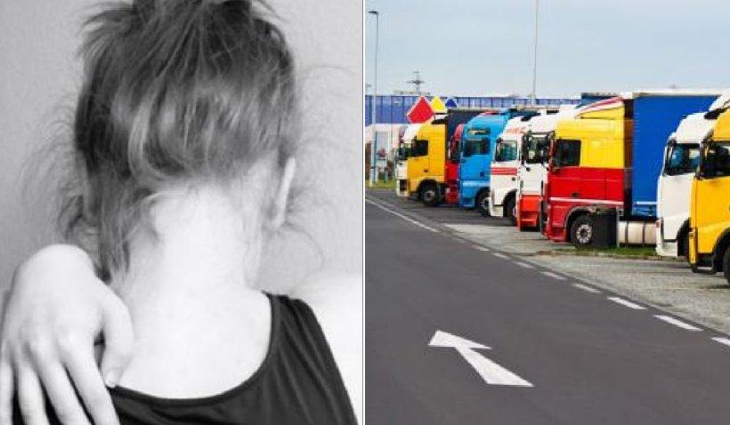 Un șofer român de TIR a cumpărat cu 5 euro şi un pachet de ţigări o minoră, într-o parcare din Germania