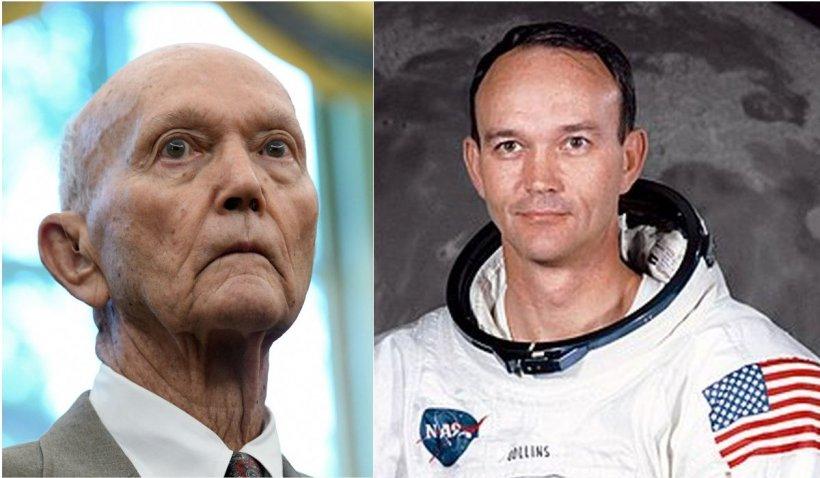 A murit Michael Collins, astronautul american participant la Misiunea Apollo 11, care a dus primii oameni pe Lună