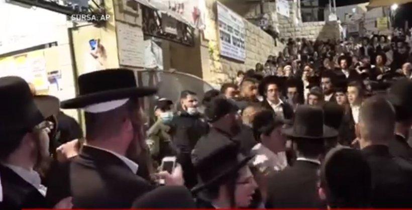 Tragedie în Israel. Cel puțin 44 de morți într-o busculadă la o sărbătoare religioasă