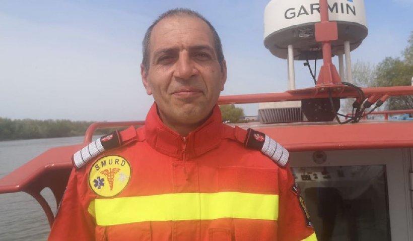 Un bărbat în stop cardio-respirator a fost salvat de un comandant de echipaj aflat în timpul liber