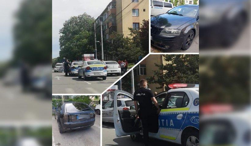 Femeie rapită pe stradă, în Craiova, scoasă pe geamul maşinii de doi politişti