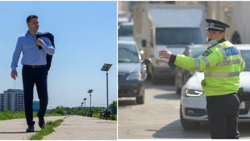Poliția Rutieră îl contrazice pe Ciprian Ciucu, primarul Sectorului 6