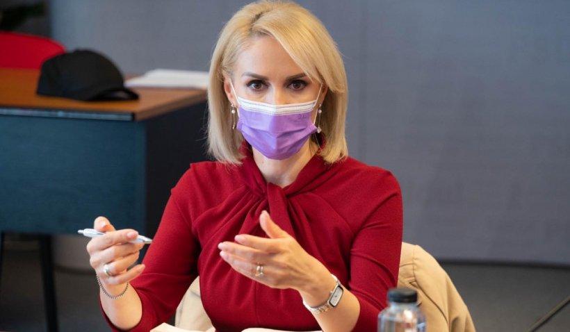 """Gabriela Firea, reacție la declarațiile lui Florin Cîțu despre bugetul Capitalei: """"Bucureștenii primesc fiere și de la primar și de la Guvern"""""""