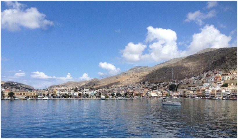 Insula Kalymnos din Grecia intră în carantină din cauza COVID-19