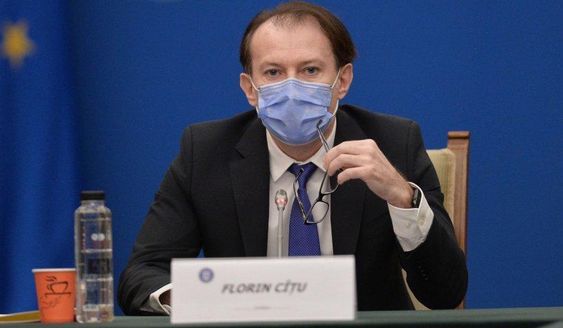 Florin Cîțu: Relaxarea se va face în două etape. Prima de la 1 iunie, a doua, la 1 august