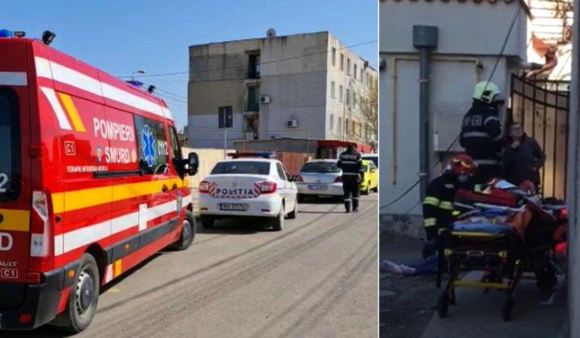 Tragedie la Cluj-Napoca! Un muncitor de 31 de ani a căzut de pe un bloc și a murit pe loc