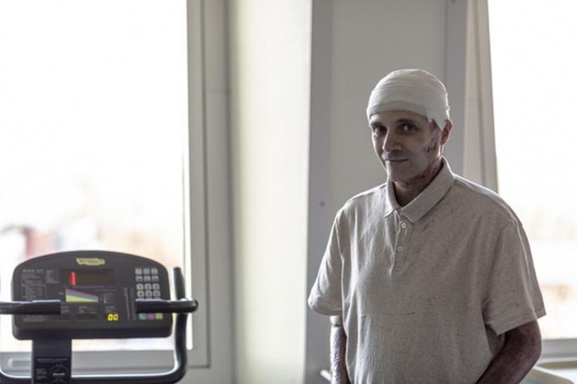 Cătălin Denciu, medicul-erou rănit în incendiul de la Spitalul Piatra Neamţ, externat după aproape jumătate de an