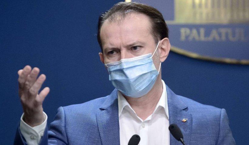 """Florin Cîțu: """"Astăzi depășim 3,5 milioane persoane vaccinate în România"""""""