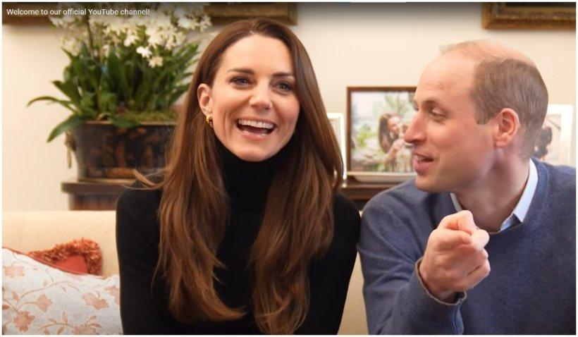 Prinţul William şi Kate Middleton şi-au lansat canal oficial de YouTube