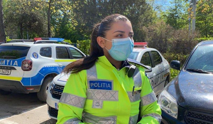 Ea este poliţista care a salvat o fetiţă sechestrată de tată într-un apartament din Botoşani