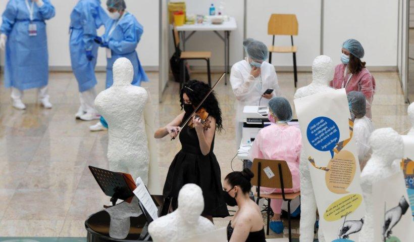 Record la vaccinare, înregistrat sâmbătă: Peste 110.000 de români s-au imunizat anti-COVID