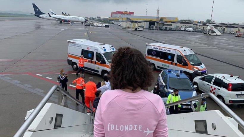 Zborul care salvează vieţile copiilor