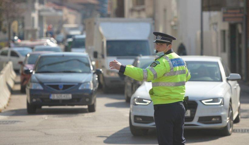 Amenințare cu pistolul în trafic, la Giurgiu. Poliția a deschis dosar penal