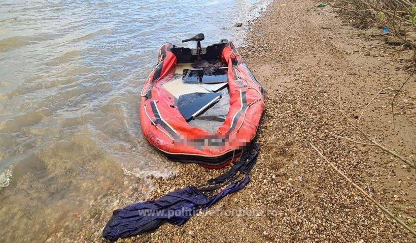 Migranţi din Afganistan, Iran şi Siria, salvaţi de la moarte, după ce au încercat să treacă Dunărea cu o barcă gonflabilă