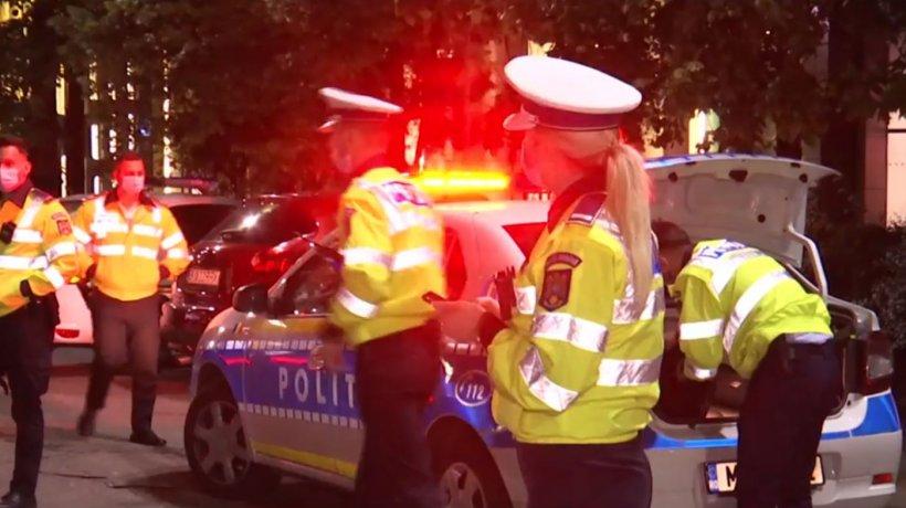 Razie pe străzile din București! Șoferii drogați sau băuți, vânați de polițiști