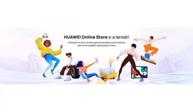 Reduceri masive cu vouchere de 6.000 de lei în noul magazin online Huawei