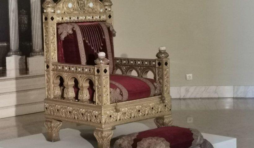 Tronul Regelui Carol I, prezentat la Muzeul Naţional de Artă pentru prima dată în ultimii 70 de ani