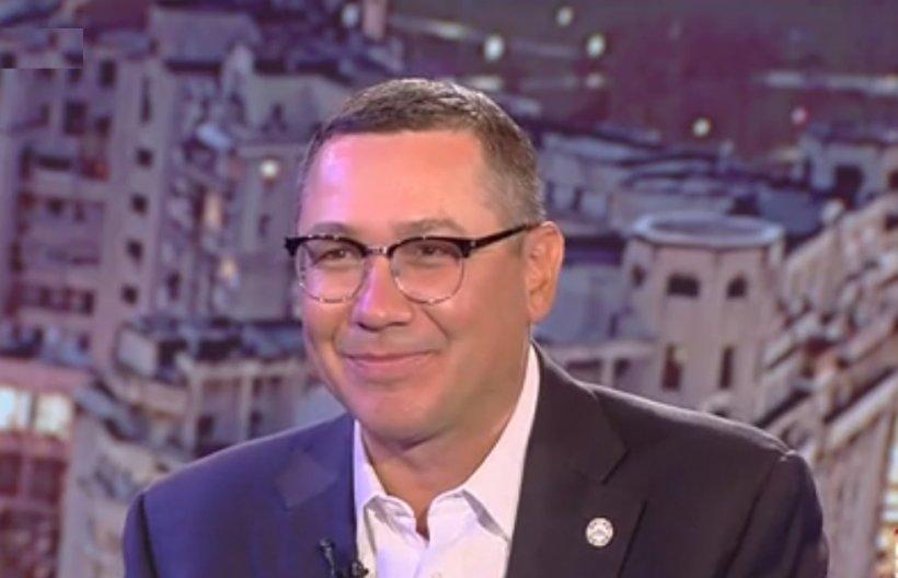 """Victor Ponta, despre candidatura sa la prezidențiale: """"Eu îmi doresc mai mult decât să candidez eu"""""""