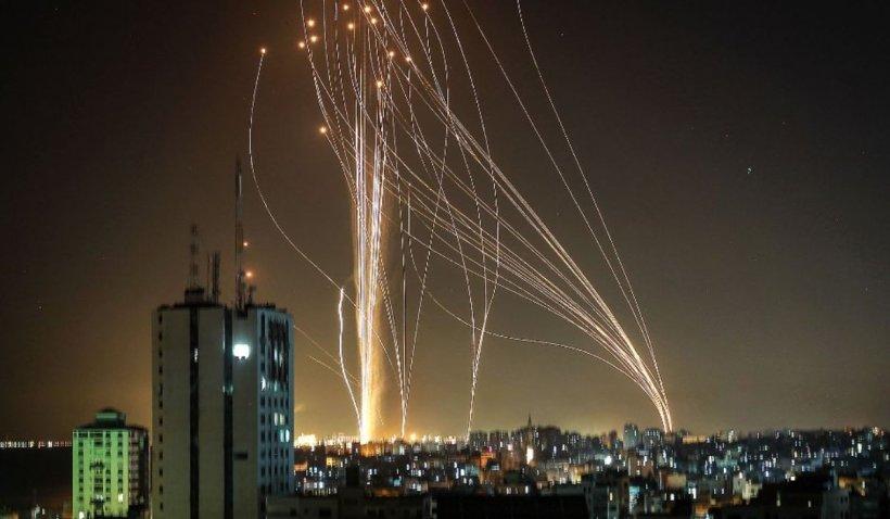 Armata israeliană a distrus sediile de informaţii militare ale Hamas, cu rachete lansate din drone