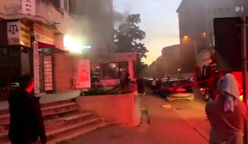 O casă de pariuri din Craiova s-a făcut scrum, după un scurtcircuit la aparate