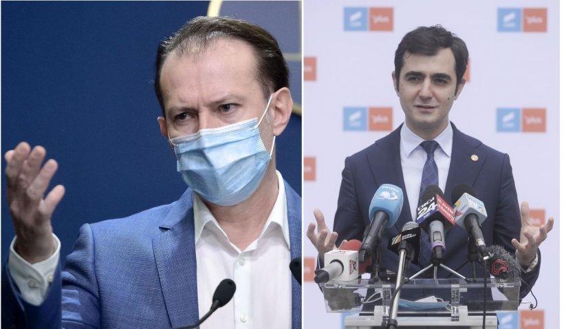 Premierul Cîţu a decis ce se întâmplă cu ministrul Năsui, care a cerut să fie amânate dezbaterile pe legea 5G
