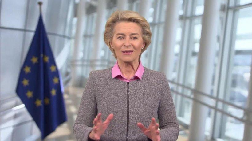 Ursula von der Leyen, mamă a șapte copii, a devenit bunică la 62 de ani
