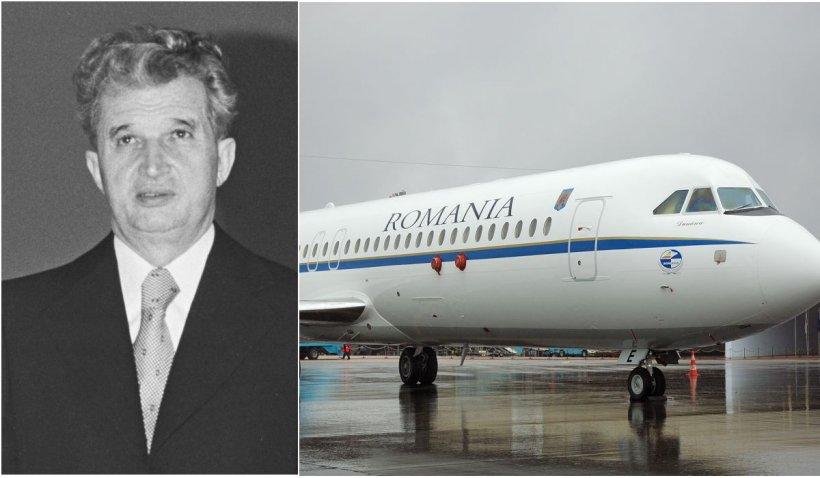 Avionul lui Nicolae Ceauşescu, scos la licitație la preţul unei garsoniere confort 3