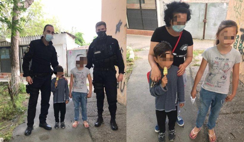 Un copil de 6 ani din Tulcea, dispărut din fața blocului, a fost găsit în timp record de jandarmi