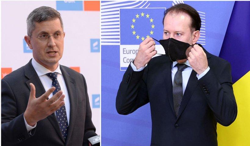 """Premierul Cîţu, după ce DLAF a sesizat DNA în cazul lui Dan Barna: """"Am avut o discuţie cu vicepremierul"""""""