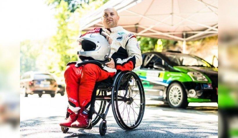 """""""Nu există nu pot"""". Lecţie de viaţă de la Ciprian Lupu, primul pilot de raliu cu dizabilităţi din Europa de Est"""