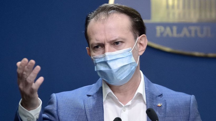 """Florin Cîțu a anunţat că nu vom scăpa de mască în aer liber, """"înainte de 1 iunie"""""""