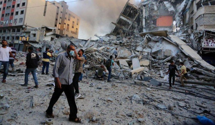 Israel: Mii de rezervişti rechemaţi sub arme şi trupe masate la graniţa cu Fâşia Gaza în perspectiva unei invazii. Un sediu al spionajului Hamas a fost bombardat