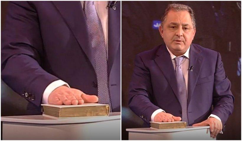 """Marian Vanghelie, cu mâna pe Biblie: """"Nu am luat niciun ban din cei 300 de milioane de euro"""""""