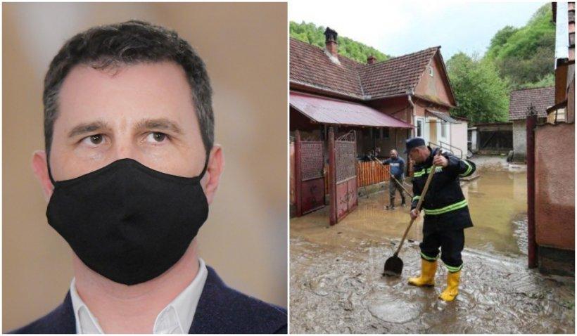 """Tanczos Barna, despre inundațiile din Satu-Mare: """"Pagubele sunt semnificative. Este tragic ce s-a întâmplat acolo"""""""