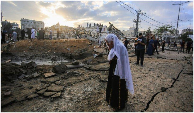 Armata israeliană a transmis că a intrat în Fâşia Gaza, dar apoi s-a răzgândit. Atac masiv, cu 160 de aeronave, în cursul nopții