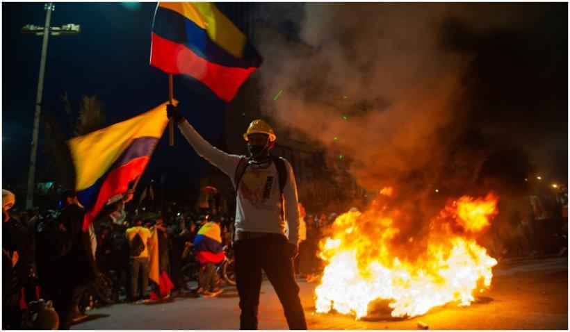 Protestele anti-guvern continuă în Columbia