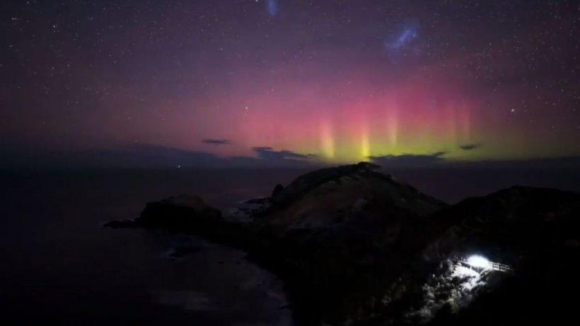 Furtuna solară, spectacol pe cerul Statelor Unite