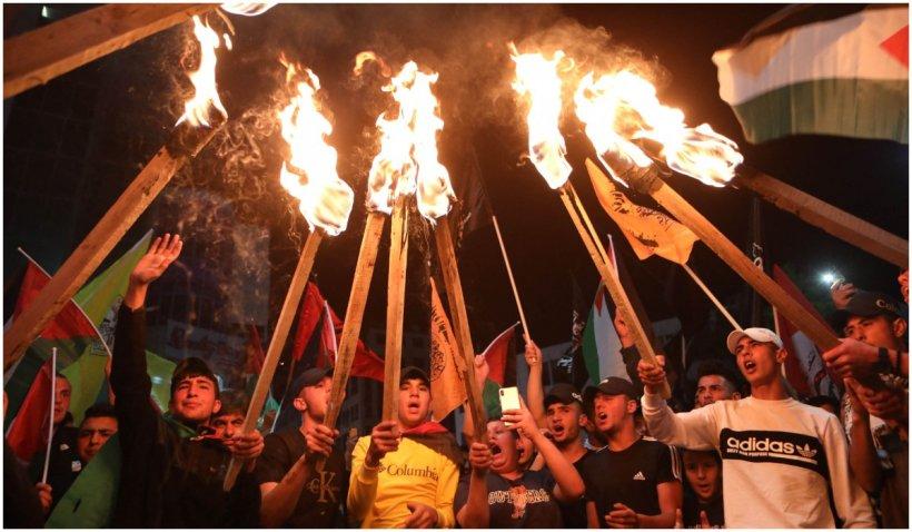 În Cisiordania au loc cele mai puternice lupte de până acum. Un reporter CNN este la fața locului