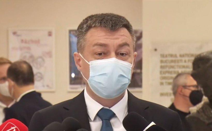 """Ministrul Culturii, la primul spectacol organizat în interior: """"Sper să fie un succes. Publicul este vaccinat"""""""