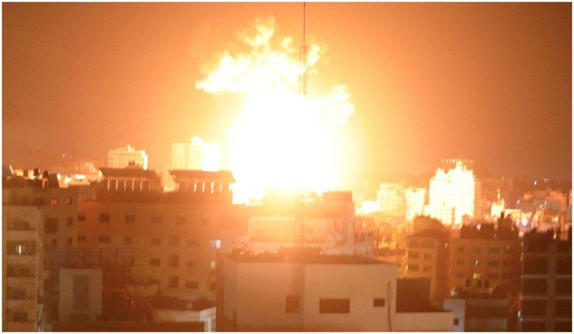 Conflictul din Fâșia Gaza. Cel puțin 33 de persoane au murit, printre care și 13 copii, în urma atacurilor aeriene israeliene