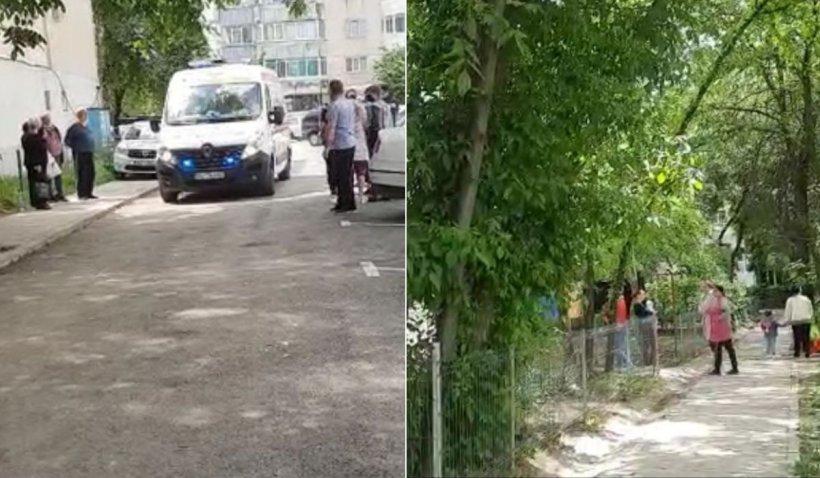 O fată de 13 ani, din Galaţi, rănită în dragoste, a vrut să moară şi s-a aruncat de pe un bloc
