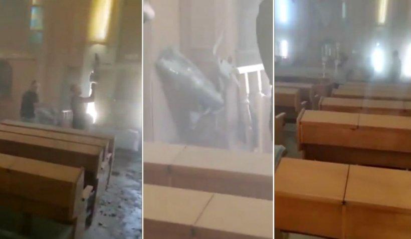 Tirurile lansate din Gaza de Hamas au lovit o sinagogă în orașul Ashkelon