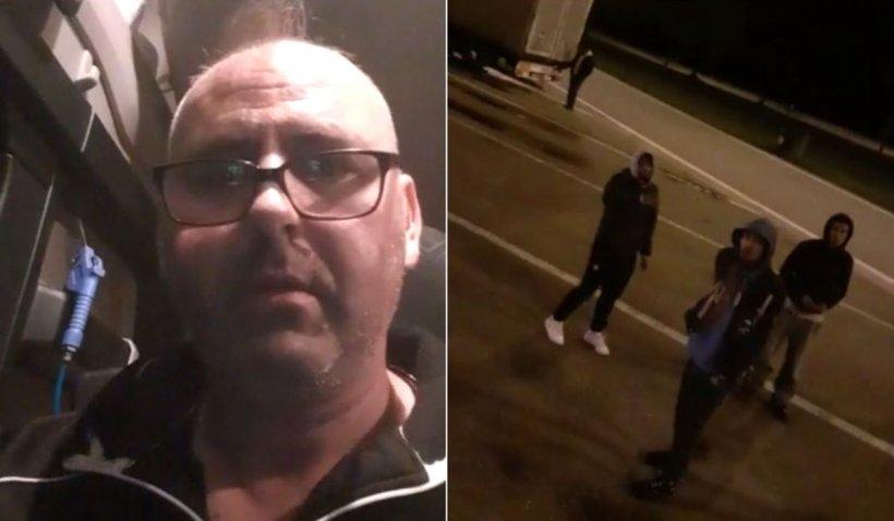 """Şofer român de TIR, terorizat de imigranţi, într-o parcare din Belgia: """"Am remorca plină de refugiaţi"""""""
