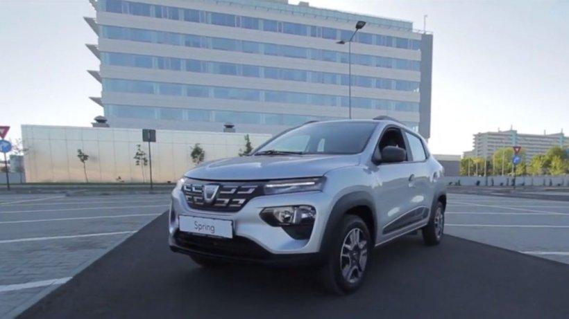 Maşinile electrice prind viteză în România. Cum arată modelul Spring de la Dacia