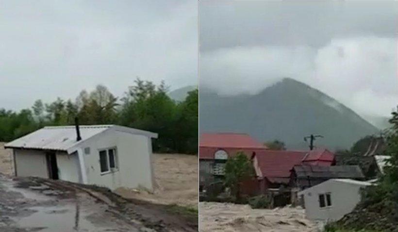 Record de precipitaţii în Bihor. Zeci de oameni au fost evacuaţi din case