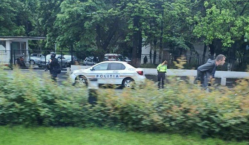 Alertă cu bombă, lângă Palatul Cotroceni